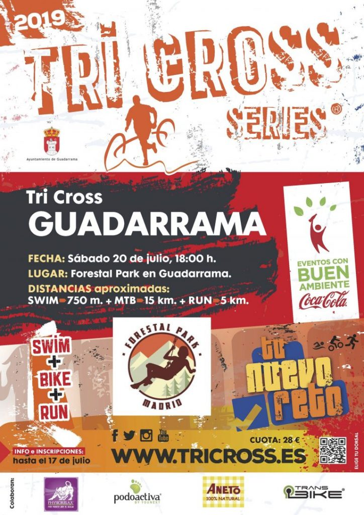 cartel tri cross guadarrama 2019